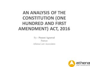 Analysis of 122nd Constitutional amendment bill-GST (2)