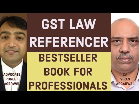 The Complete GST Law Referencer book for GST Practitioners
