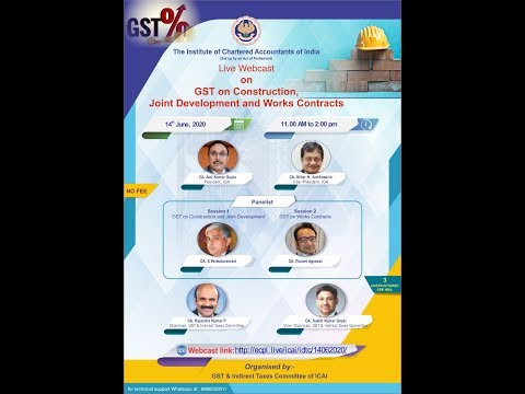 GST on Construction, Joint Development & Works Contracts