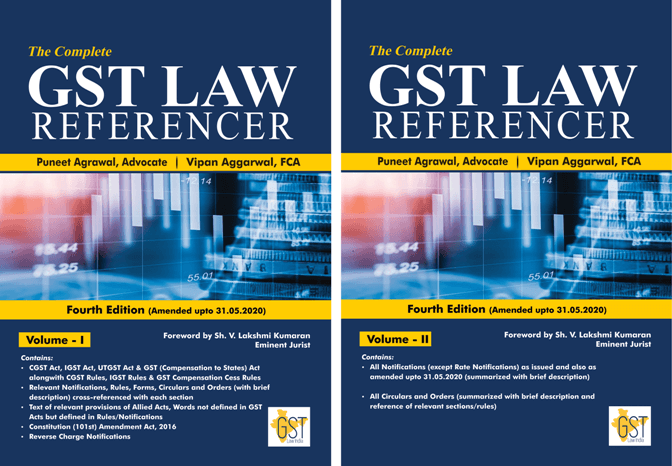 Complete GST Law referencer Vol 1