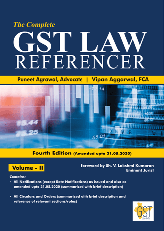 Complete GST Law referencer Vol 2